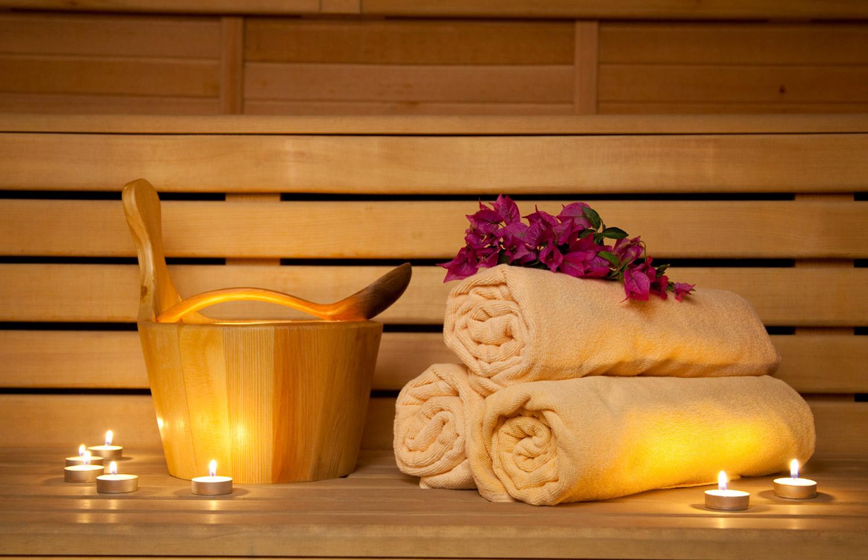 Zona relax saune e bagno turco centro benessere columbus
